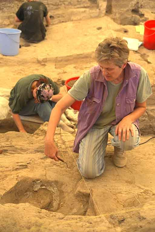 at Çatalhöyük, Turkey 1998