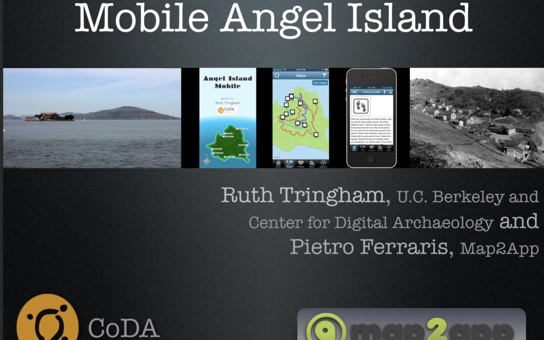 Mobile Angel Island app (2013)