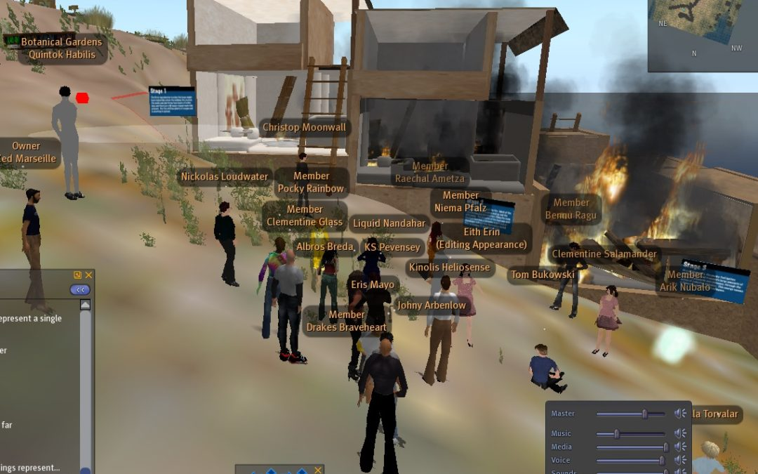 Second Life as an Archaeological Tool (2009)